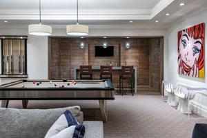 Fine Finish game room